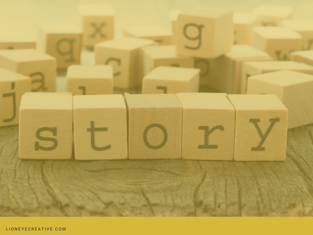 all about visual story telling
